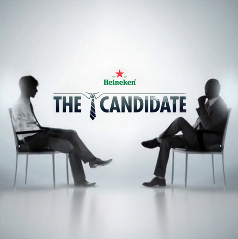 heineken recrutement the candidate