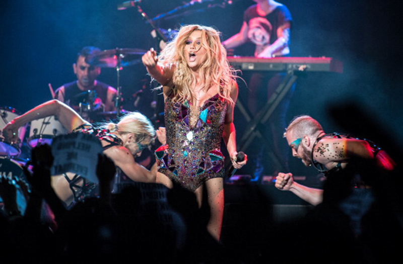 Kesha Performs At Trianon