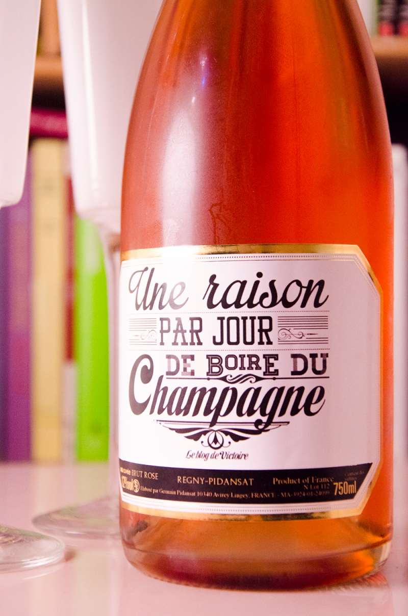 le blog de victoire ma cuvee champagne rosé perso 01