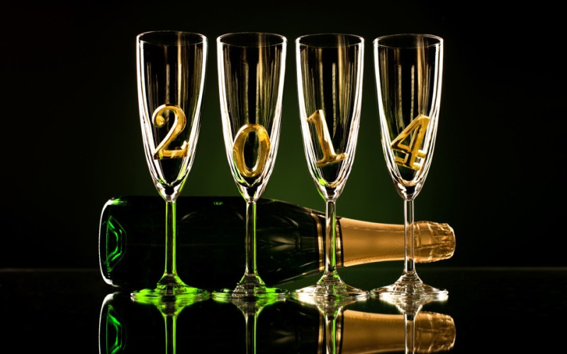 champagne-2014 happy new year voeux wishes